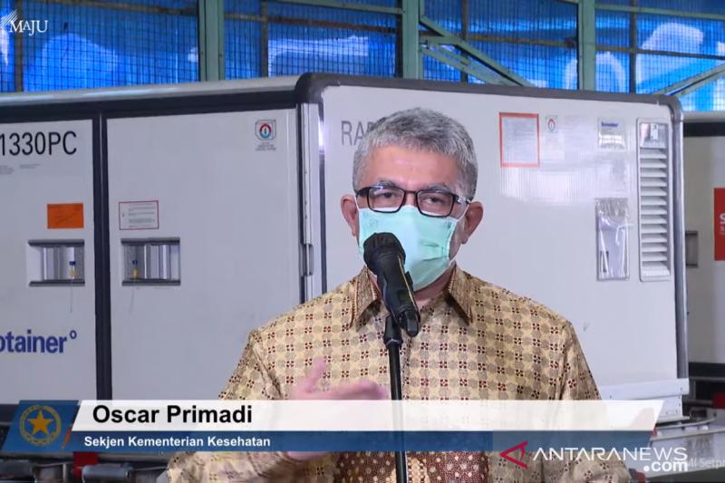 Sekjen Kemenke: Vaksin COVID-19 di Indonesia sudah diuji