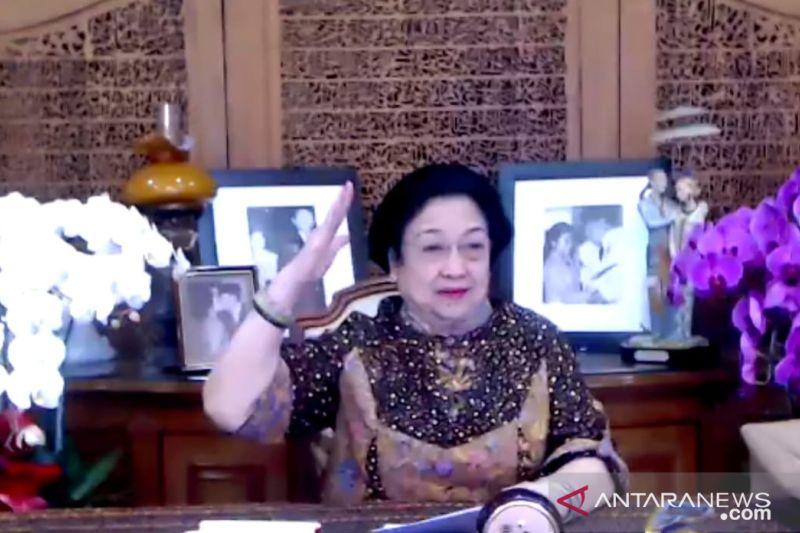 "Megawati ingin populerkan ""Salam Pancasila"" untuk menjaga persatuan"