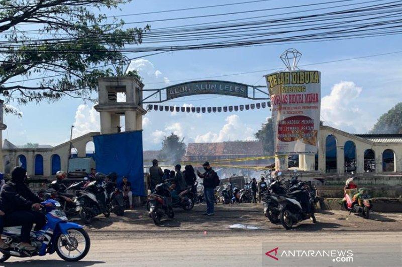 Pemkab Garut bangun pasar darurat Leles untuk pedagang korban kebakaran