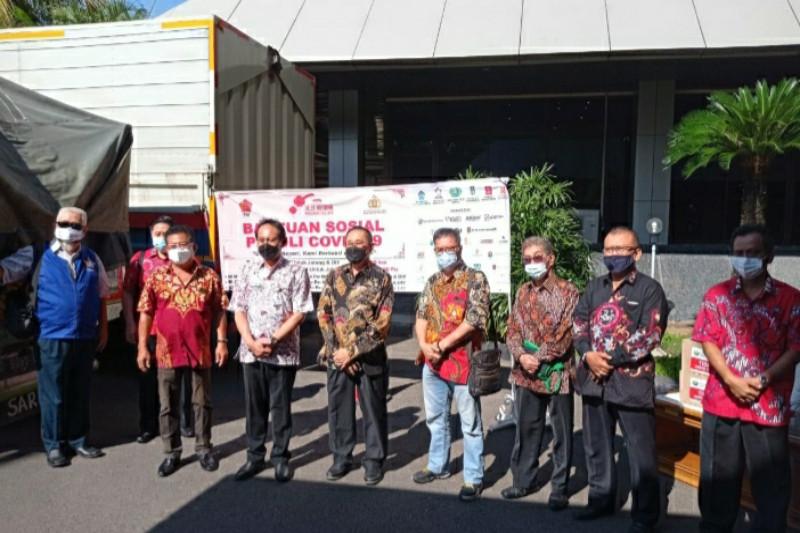 Komunitas Tionghoa bantu 1,3 juta masker dan 650 ton beras