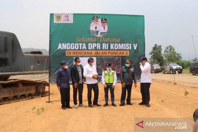 Bupati Bogor cari cara lain danai pembangunan Jalur Puncak II setelah PUPR batal