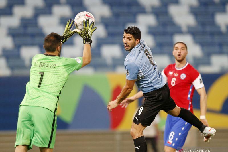 Copa America: Uruguay vs Chile seri 1-1