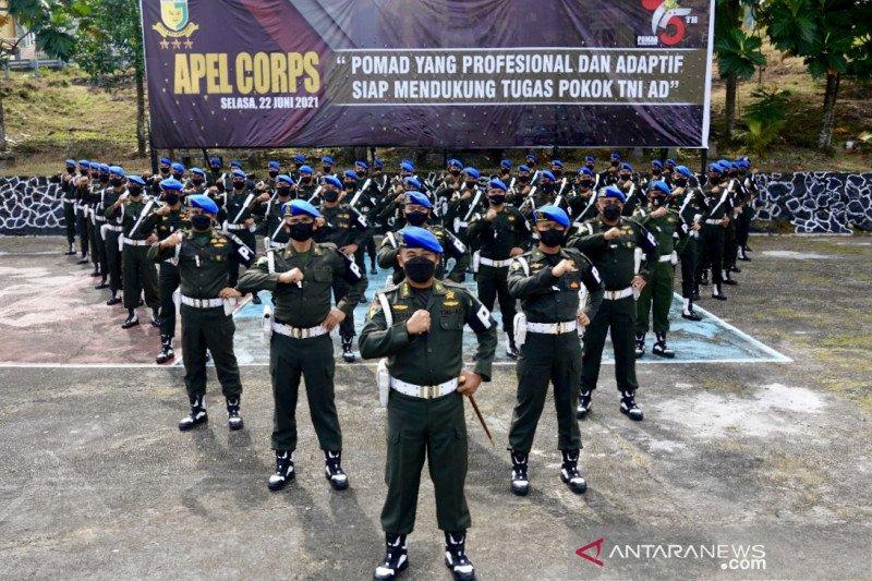 Polisi Militer TNI AD didorong terus berinovasi saat HUT ke-75