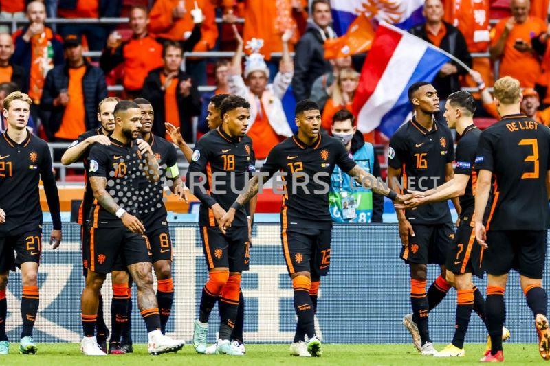 Euro 2020 - Belanda sapu bersih fase grup taklukkan Makedonia Utara 3-0