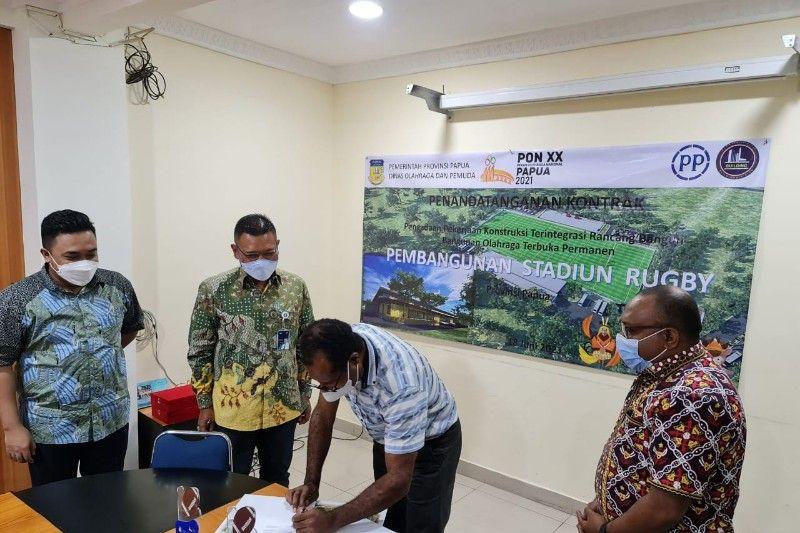 Disorda Papua: Pembangunan venue rugbi telan biaya Rp121 miliar