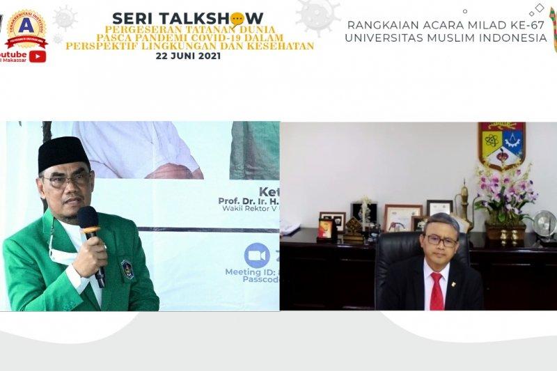 UMI hadirkan Wakil Rektor University Kebangsaan Malaysia bahas COVID-19