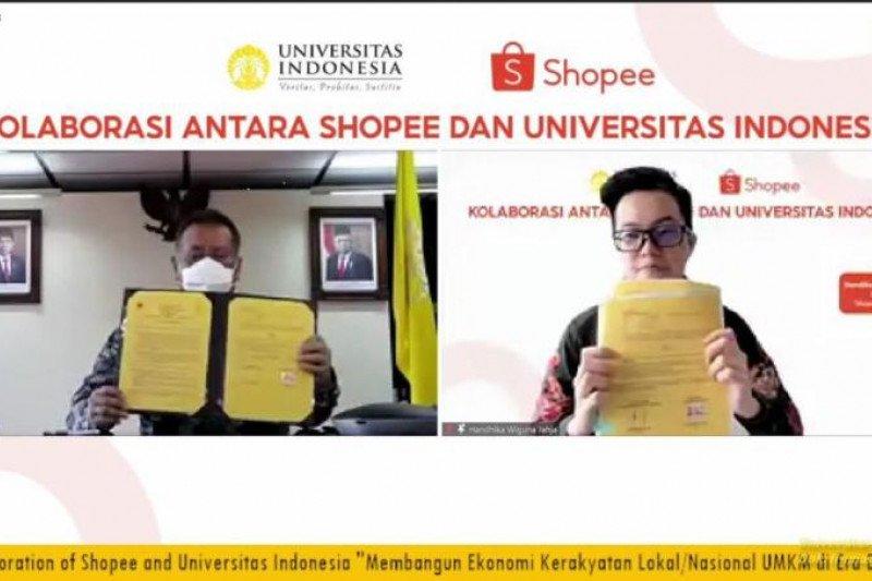 UI dan Shopee perkuat sinergi Tri Dharma Perguruan Tinggi
