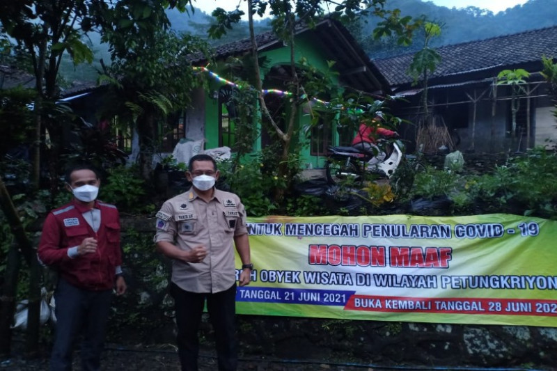 Pemkab Pekalongan tutup sementara objek wisata alam Petungkirono