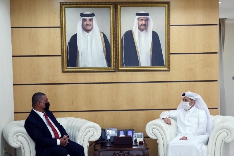 Dubes RI bahas peningkatan kerja sama pendidikan dengan Menteri Pendidikan Qatar