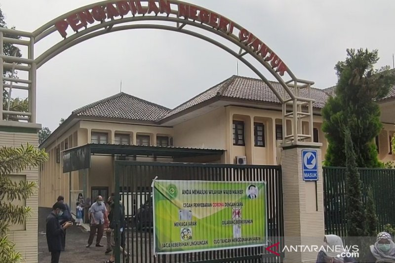 Pengadilan Cianjur hentikan seluruh persidangan mulai pekan depan