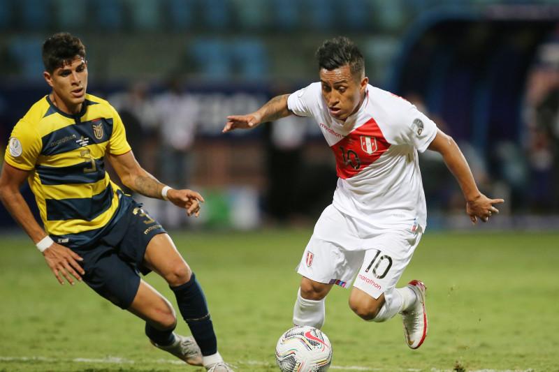 Peru tahan imbang Ekuador 2-2 di COPA America 2021