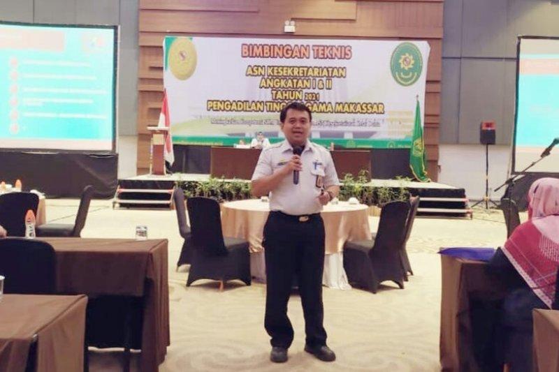Pengadilan Tinggi Agama Makassar dorong penguatan perpustakaan
