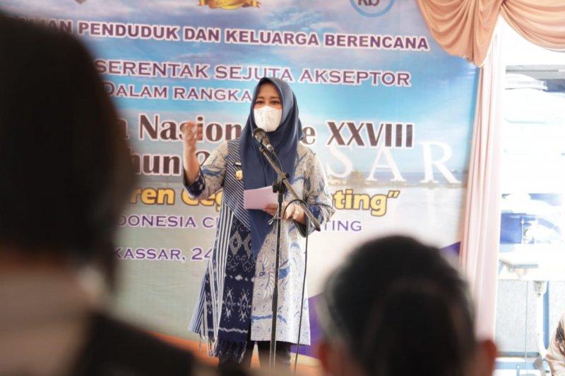 Pemkot Makassar canangkan sejuta akseptor pada peringatan Harganas 2021