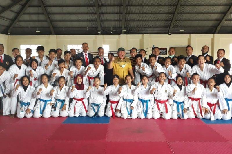 18 atlet karate Lampung uji coba tanding ke Bandung