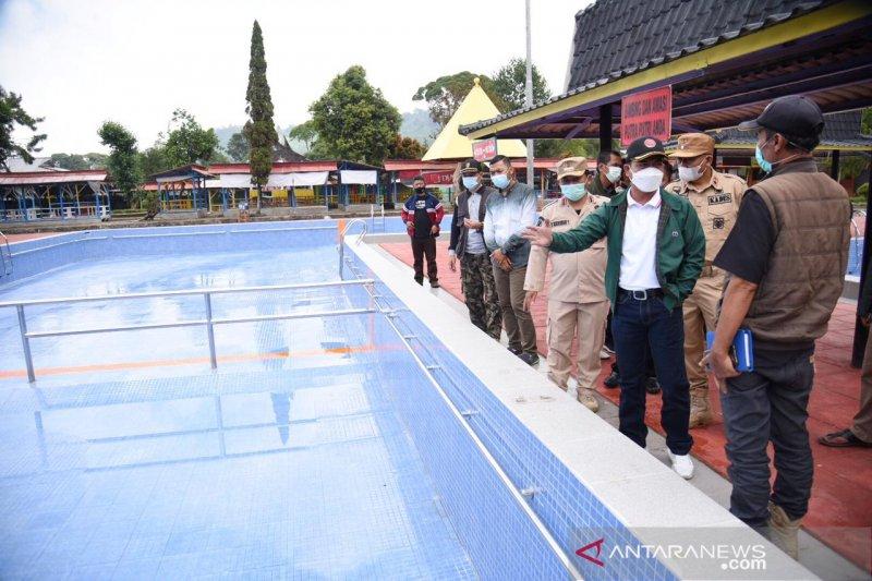 Disparbud Bandung batasi pembukaan kembali tempat wisata