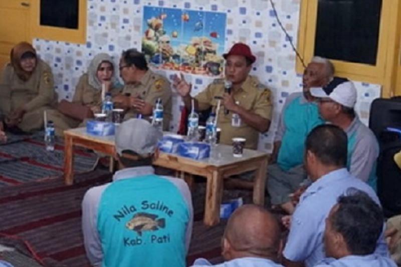 Pati dijadikan pengembang kampung perikanan budi daya nasional