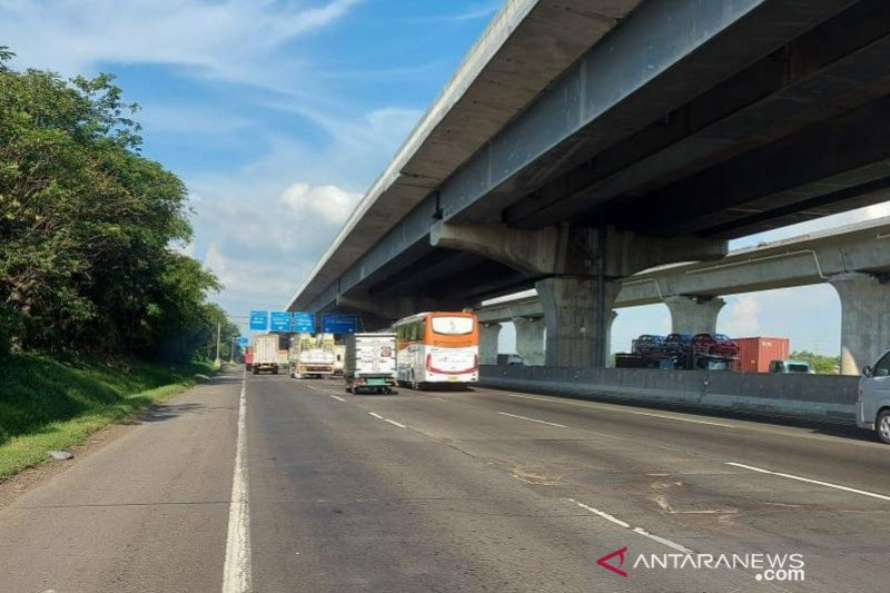 Jasa Marga rekonstruksi dua titik jalan tol ruas Jakarta-Cikampek