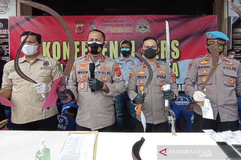 20 anggota geng terlibat tawuran di Cirebon ditangkap