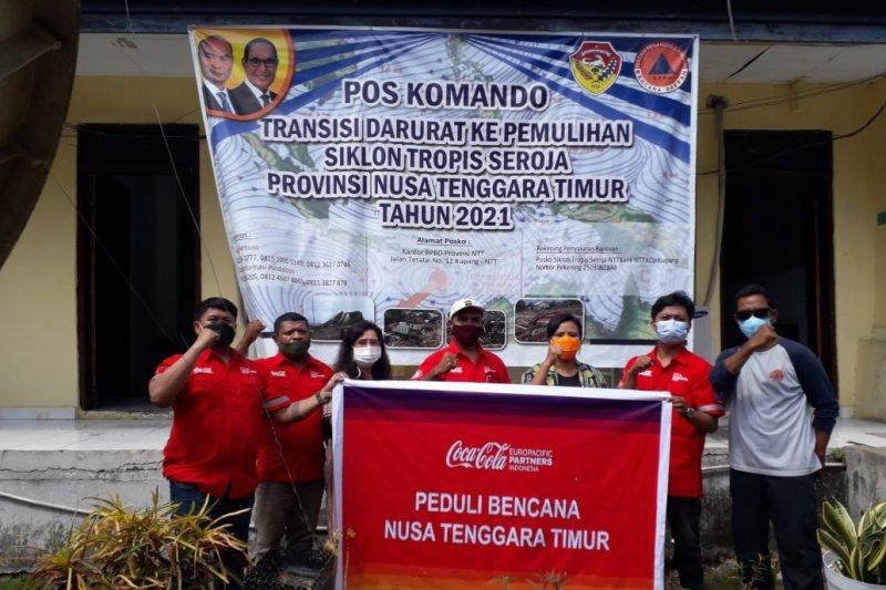 NTT terima bantuan fasilitas tidur dan penerangan untuk korban Siklon Seroja