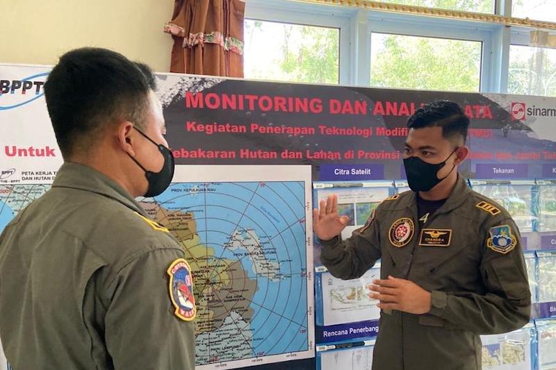 Kapten Pnb Chandra Ariwibowo, pemburu awan untuk hadirkan hujan