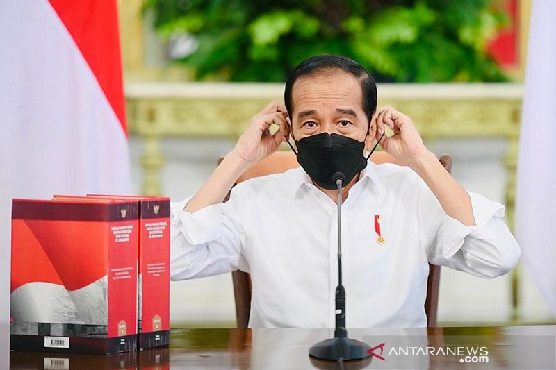 Presiden Jokowi: Indonesia belajar dari India tangani lonjakan COVID-19