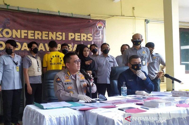 Polisi ringkus pria asal Bandung tipu Rp250 juta dengan mengaku model perempuan