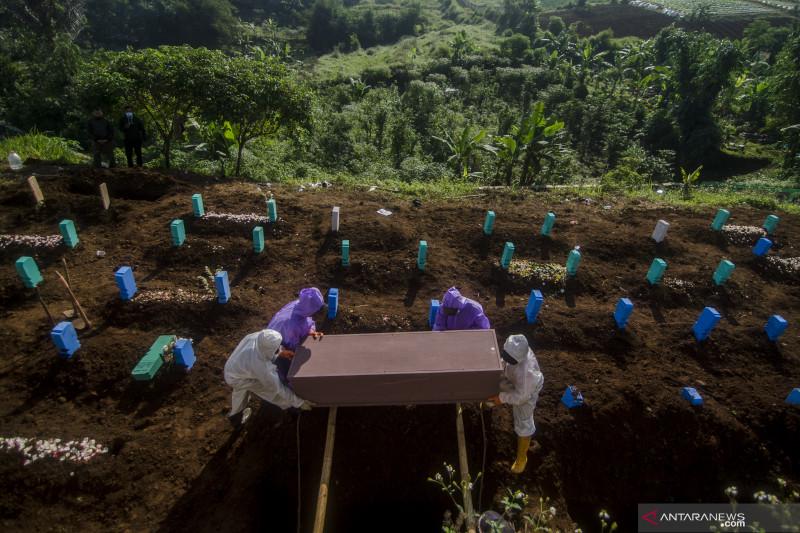 Kematian akibat COVID-19 capai angka tertinggi pada akhir Juli
