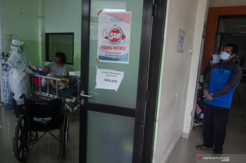 BOR rumah sakit Kota Bandung turun meski kasus COVID-19 masih naik