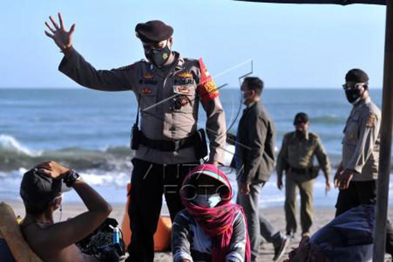 Pengawasan PPKM Darurat destinasi wisata Bali