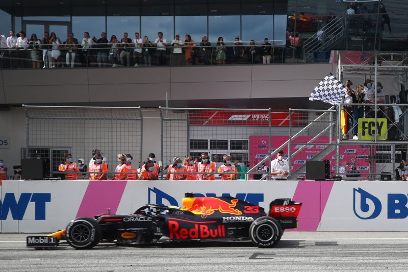 Max Verstappen juarai GP Austria