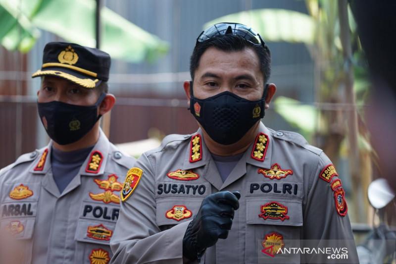 Polresta Bogor laksanakan vaksinasi massal keliling di RT zona merah