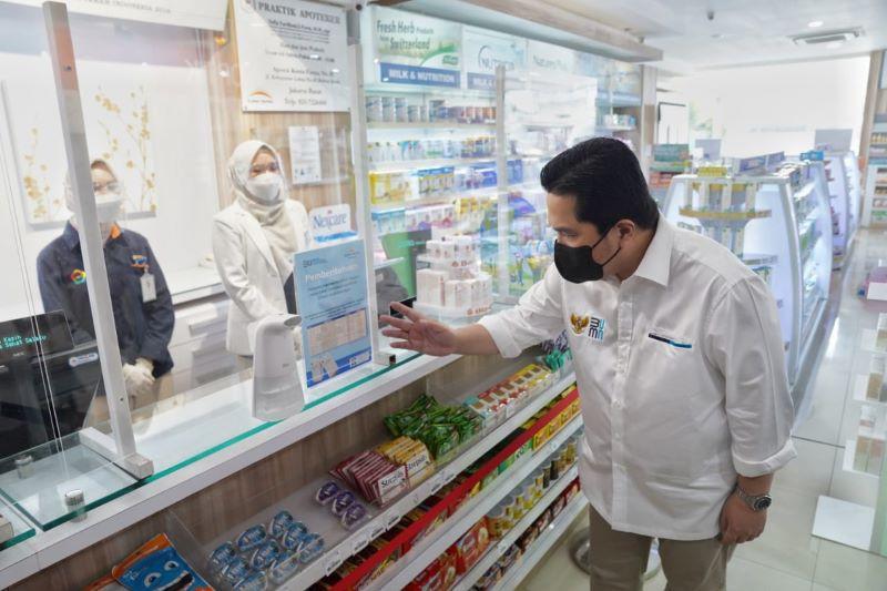 Erick Thohir kecam harga obat melejit saat terjadi lonjakan kasus COVID-19