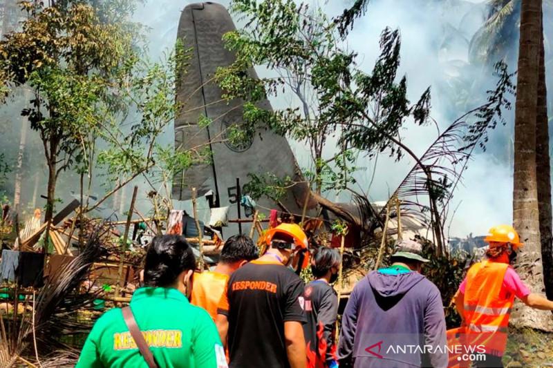 Filipina minta AS tangani kotak hitam, selidiki kecelakaan pesawat Lockheed C-130