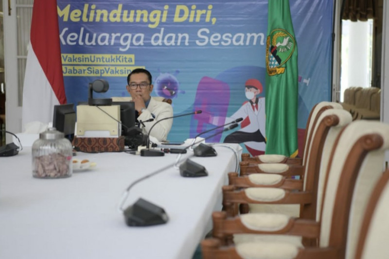 Gubernur Jabar sebut pelaku usaha dukung vaksinasi massal COVID-19