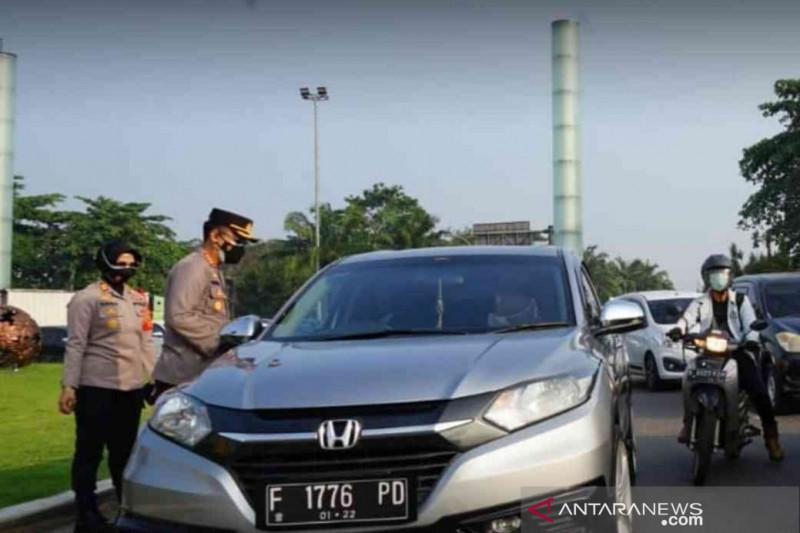 Polisi tutup dua akses tol Bekasi arah Jakarta, ini alasannya