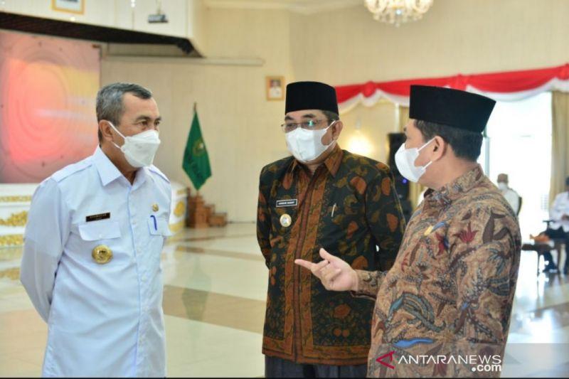 Bupati Tanjung Jabung Barat pastikan pembebasan lahan Tol Jambi-Rengat di daerahnya selesai
