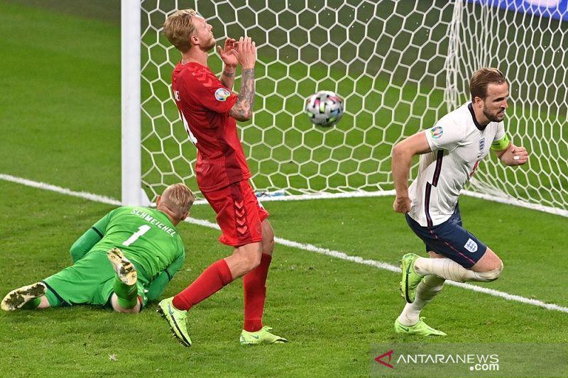 Gol Harry Kane di babak tambahan bawa Inggris ke final Euro 2020