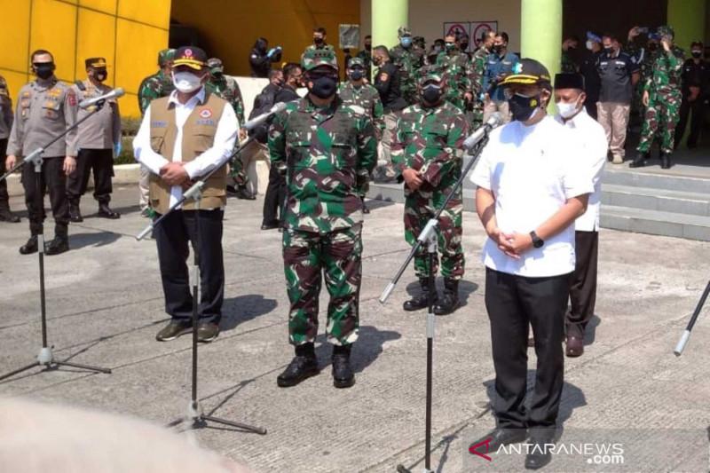 Panglima TNI rencanakan kirim vaksinator TNI dan Polri ke Bandung Raya