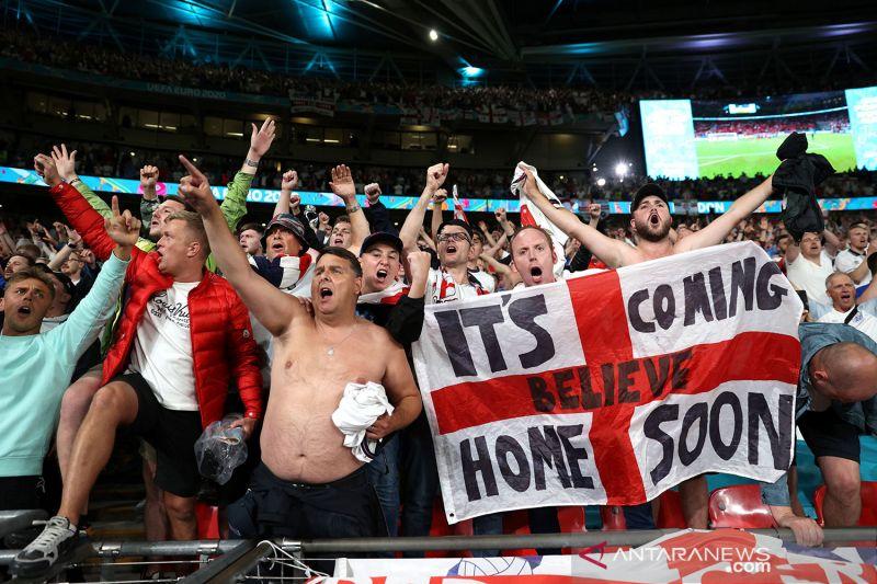 Fans Inggris bisa intimidasi timnas Italia, tapi dilarang hina lagu kebangsaan