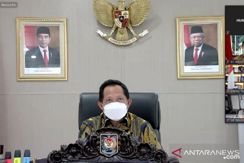 Mendagri terbitkan instruksi terbaru untuk PPKM Jawa dan Bali