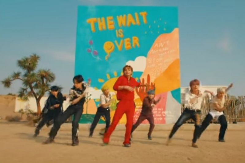 BTS resmi rilis lagu
