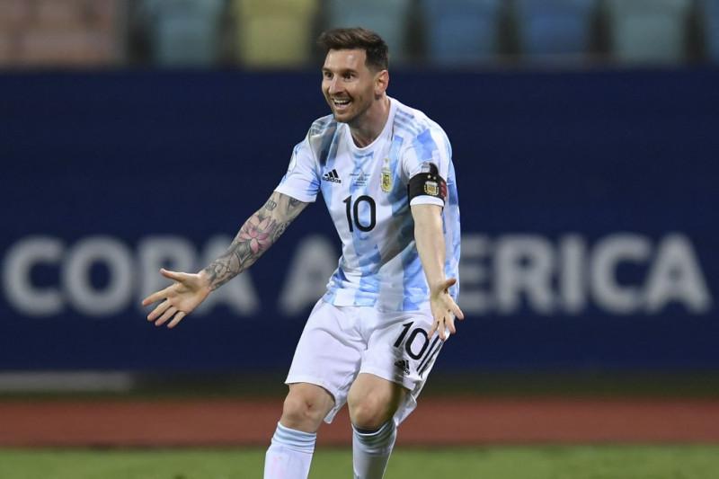 Lionel Messi bakal berhasil bersama Argentina raih trofi Copa America?