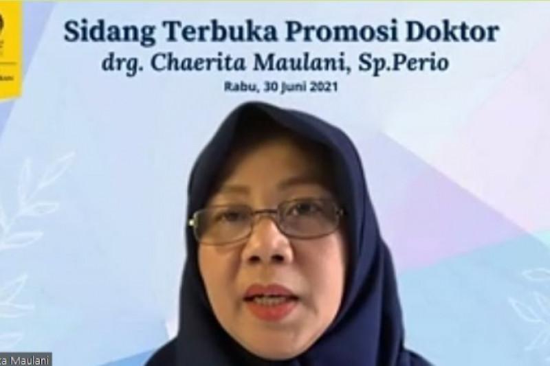Chaerita Maulani raih Doktor ke-121 FKG Universitas Indonesia