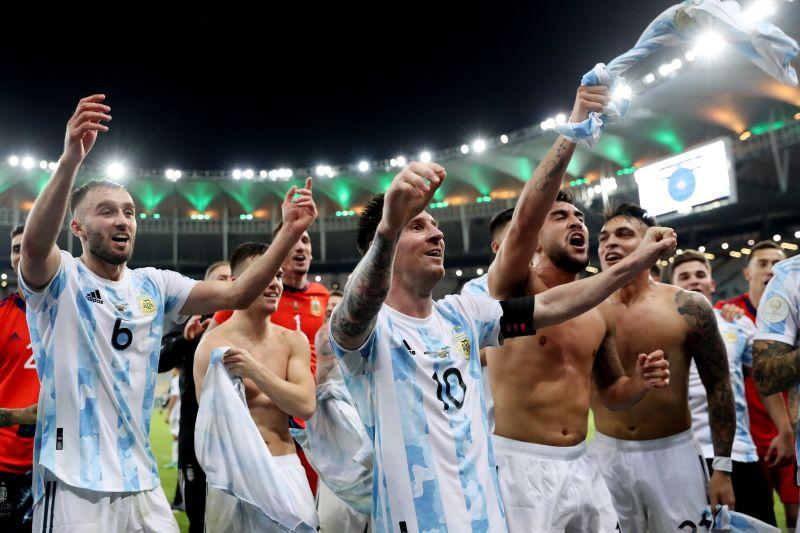 Argentina juara Copa America 2021 usai kalahkan Brazil
