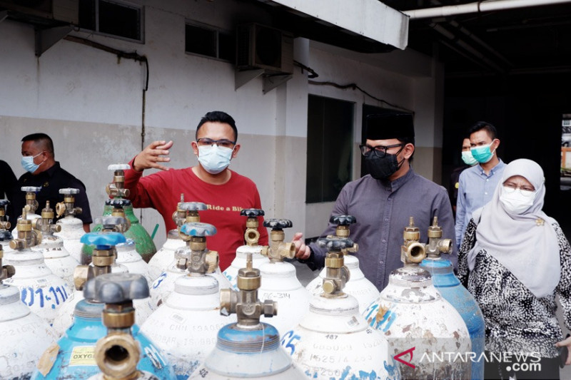 Rumah sakit di Kota Bogor krisis oksigen, kata Bima Arya