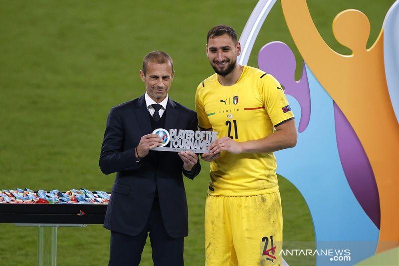 Donnarumma dinobatkan jadi Pemain Terbaik Euro 2020