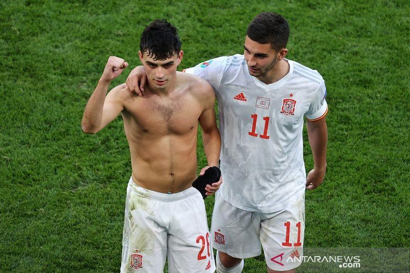 Gelandang Spanyol Pedri jadi Pemain Muda Terbaik Euro 2020