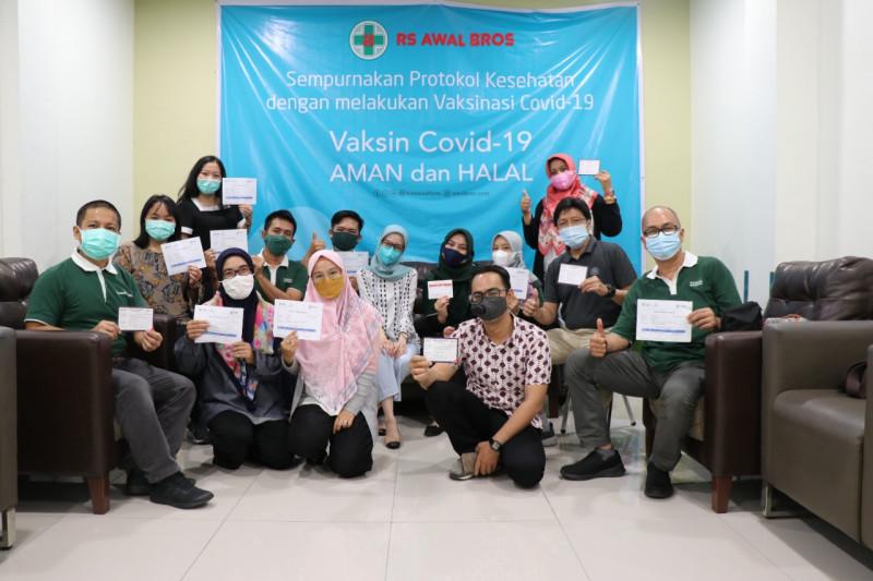 Jelang PTM, seluruh staf Tanoto Foundation Riau divaksin COVID-19