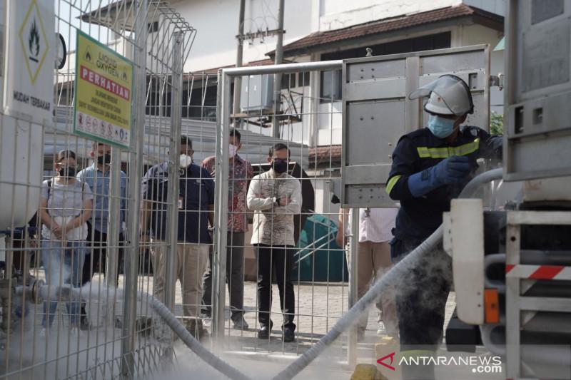 Pupuk Kujang bantu oksigen untuk RSUD Kota Bogor
