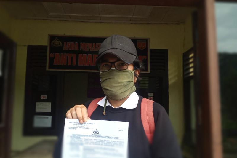 Ketua DPRD Kabupaten Solok dilaporkan ke polisi atas dugaan penyerobotan tanah  warga